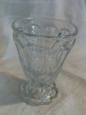 """Verre Ancien  Pressé moulé Baccarat  Antique Victorian Pressed """"Crystal glass"""""""