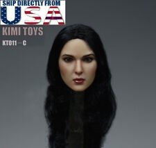 1/6 Monica Bellucci Female Head Sculpt KIMI KT011 C For Hot Toys Phicen U.S.A.