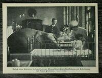 AP) Blatt 1907 London Ormondstreet Kinderkrankenhaus Elefant Besucht Kinder +++