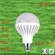 2pcs/lot Led Bulbs 9w 12v DC E27 Lampada Led 12v Ampoule Led Filament Led Energy