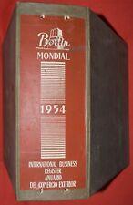 ▬►Annuaire Mondial du Commerce DIDOT BOTTIN 1954 Indochine, Cochinchine, Laos ..