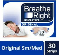 Breathe Right Original Snoring Congestion Relief Nasal Strips - 30pc