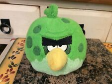 "Angry Birds Space Incredible Terence Green Bird Plush 7"" Stuffed Toy With Sound"