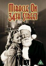 MIRACLE ON 34TH STREET (ORIGINAL) - DVD - REGION 2 UK