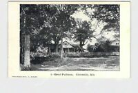 PPC POSTCARD ALABAMA CITRONELLE HOTEL PULLMAN EXTERIOR STREET VIEW
