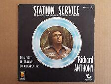 "Vinyl-7""-Cover # nur Cover # Richard Anthony # Station Service # vg+"
