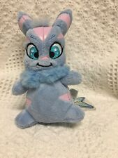 Neopets Striped Usul Plushy. Keyquest Series 4. 2008. New with tag.