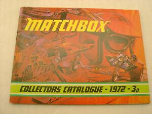 1972 MATCHBOX SUPERFAST COLLECTORS CATALOGUE 3p