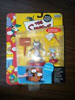 NEW! The Simpsons WOS Playmates Itchy and Scratchy Action Figure