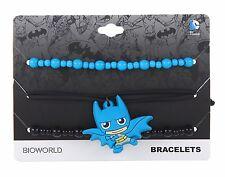 DC Comics BATMAN CHIBI BRACELET SET Wristband Rubber Kawaii Charm