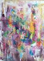 ORIGINAL Bild XXL Acryl Unikat Kunst Gemälde Malen Abstrakt Bilder