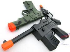 3x Toy Guns! Military Toy Mauser Pistol, Camo 9MM Pistol & Revolver Cap Gun