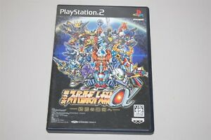 Super Robot Wars Taisen Alpha Japan Sony Playstation 2 PS2 game