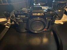 Minolta X-700 35mm Camera W/Wide Angle Lens And Carrying Case W/Camera Case