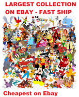 Disney and Other Cartoon machine embroidery Designs CD plus BONUS - fast ship