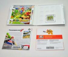 Mario Tennis Open game for Nintendo 3DS w box artwork booklet papers