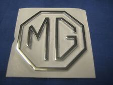 MG 3 PIECE OCTAGON BOOT BADGE MGA MGB MGC MIDGET MAGNETTE AND FIXINGS EB148
