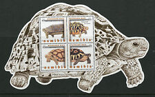 Namibia 2016 MNH Tortoises of Namibia 4v M/S Leopard Tortoise Turtles Stamps