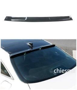 For 2019-2020 Toyota Avalon Roof Spoiler Gloss Black Rear Window Splitter Wing