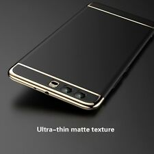 For Huawei P10 Case 3in1 Plating Skin Electroplate Hard Removable Cover Black