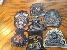 Motorcycle Chopper Culture Stickers Lot of 7NEW