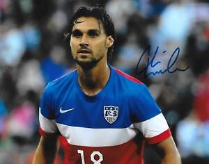 Chris Wondolowski San Jose Earthquakes signed Team USA 8x10 photo autographed 2