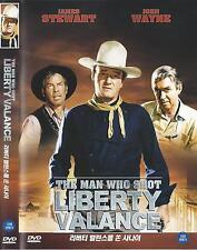 The Man Who Shot Liberty Valance (1962, John Ford) DVD NEW