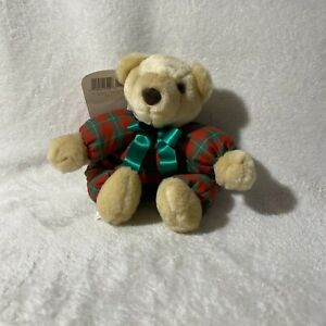 "Hallmark I'm Merry Christmas Bear! Suffed Stuffy Gripping Paws NEW 12"" Vintage"