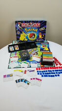 Parker Brothers Pokemon Monopoly Board Game 1998 Nearly Complete