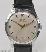 Hau Herren Armbanduhr Marke Doxa Handaufzug Generalüberholt um 1960 Sammler