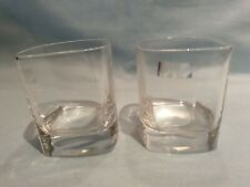 Luigi Bormioli STRAUSS Crystal Light & Music Set of 2 Whisky Glasses GC