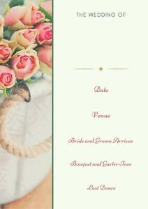 Personalised Wedding Planner, Wedding planner book, Wedding journal, Diary
