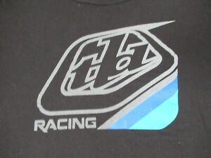 TROY LEE DESIGNS TLD RACING CYCLING - BLACK 2XL T-SHIRT F1660