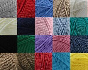 Robin Super Chunky Knitting Wool 100 g balls 19 Colours