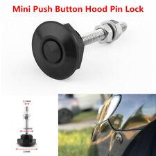 1 PCS Aluminium Alloy Latch Push Button Hood Pin Lock Car Quick Release Bumper