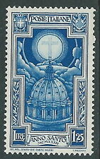 1933 REGNO ANNO SANTO 1,25 LIRE MNH ** - CZ29-2