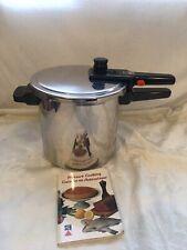 Vintage SA SEB 8L Pressure Cooker Long Handle France