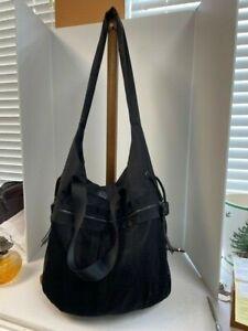 Lululemon Large Black Gym Travel Yoga Tote Bag