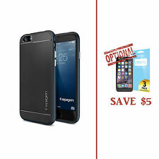 Express Spigen Neo Hybrid Case Bumper for iPhone 6 Plus 5.5 Metal Slate