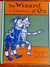 The-Wizard-of-Oz-1903-Very-Early-Edition-L-Frank-Baum Pictures By W.W. Denslow J