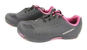 Garneau Tflex Cycling Shoes Trainers Black & Pink SPD Cleat Sizes UK 6 EU 40 NEW