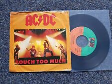 AC/DC - Touch too much 7'' Single GERMANY
