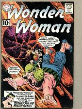 Wonder Woman #126-1961 vg+ Queen Hippolyta Wonder Tot Mister Genie