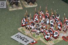 25mm biblical / egyptian - foundry spearmen 24 infantry - inf (10662)