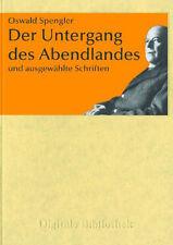 Le Untergang de l'Occident Oswald Spengler CD numérique bibliothèque numéro 152