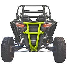 Tubular Steel Rear Bumper Lime Squeeze Powdercoated RZR XP 1000 Heavy Duty UTV
