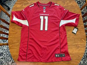 Nike NFL On Field Official Arizona Cardinals #11 Larry Fitzgerald Jersey 2XL XXL