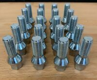 20 X M14X1.5 TAPERED ALLOY WHEEL BOLTS 28MM FIT FOR VW T4 T5 AMAROK