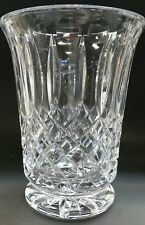 Hand cut Award / vase  glass 24% crystal  Signed O'ROURKE