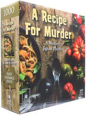 Bepuzzled Recipe for Murder 1000pc Mystery Jigsaw Puzzle